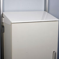 Toprail Cupboard Sloping Top
