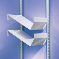 Toprail - Filing shelves
