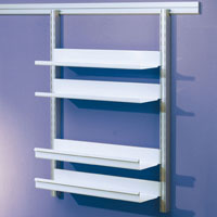 Toprail - Shallow lipped shelves