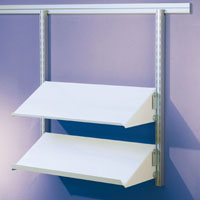 Toprail - Sloping shelves